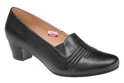 Czółenka na obcasie buty AXEL Comfort 1356 Czarne