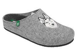 Kapcie Pantofle domowe Buty Dr Brinkmann 220224-9 Popielate