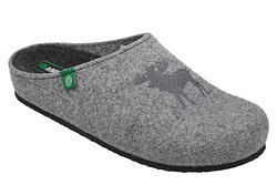 Kapcie Pantofle domowe Ciapy Dr Brinkmann 220241-9 Popielate