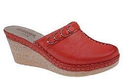 Klapki MANITU 900439-4 Czerwone