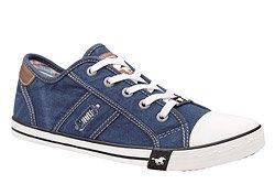 Kultowe Trampki MUSTANG 36C0036 Jeans