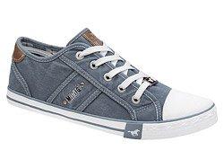 Kultowe Trampki MUSTANG 48C0001 Błękitny Jeans