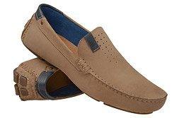 Mokasyny buty wsuwane BADURA 3153 Beżowe