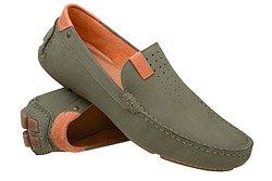 Mokasyny buty wsuwane BADURA 3153 Zielone