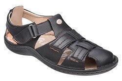 Półbuty Sandały KRISBUT 1108A-1-1 Czarne