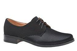 Półbuty komunijne wizytowe buty KMK 99 Czarne AN