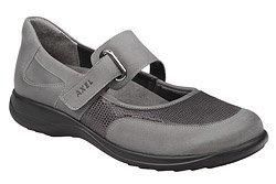 Półbuty na rzepy buty AXEL Comfort 1576 Popiel