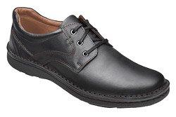 Półbuty sznurowane buty KRISBUT 4398-8-9 Czarne