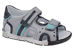 Sandałki dla chłopca KORNECKI 3726 Popielate