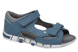 Sandałki dla chłopca KORNECKI 3988 Niebieskie