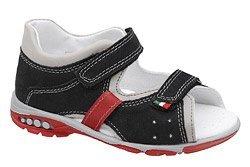 Sandałki dla chłopca KORNECKI 6567 Czarne