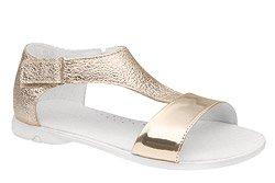 Sandałki dla dziewczynki KORNECKI 4750 Złote Brokat