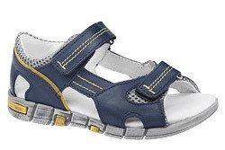Sandałki na rzepy skóra KORNECKI 3468