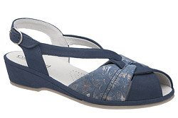 Sandały COMFORTABEL 710033-5 Granatowe