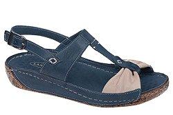 Sandały LANQIER 34C385 Granatowe