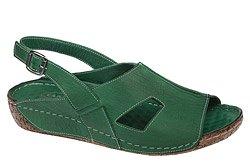 Sandały LANQIER 34C394 Zielone