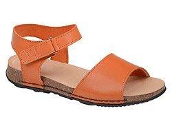 Sandały damskie SIMEN 0016 Pomarańczowe