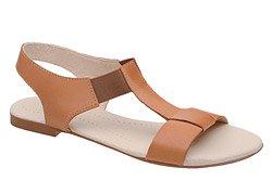 Sandały damskie VERONII 3495 Brązowe Sienna L19