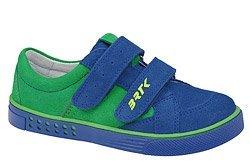Sneakersy BARTEK 65515-1B5 Kobalt Zielone na rzepy