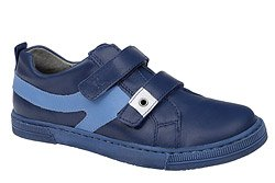 Sneakersy Półbuty KORNECKI 3652 Kobaltowe na rzepy
