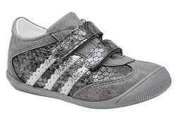 Sneakersy Półbuty KORNECKI 4869 Popielate na rzepy