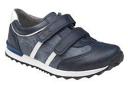 Sneakersy Półbuty KORNECKI 4912 Granatowe na rzepy