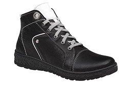 Trzewiki buty zimowe KACPER 4-6336-163 Czarne