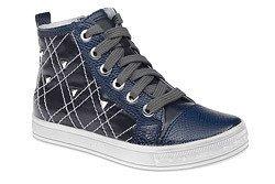 Trzewiki nieocieplane buty KORNECKI 4703 Granat