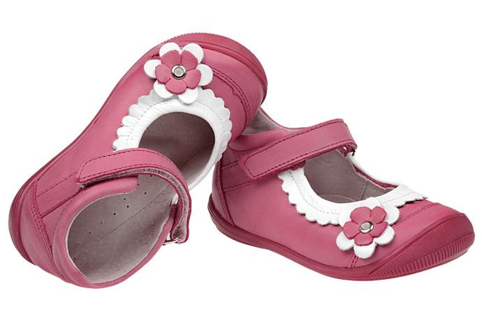 Balerinki na rzepy buty KORNECKI 3872 skórzane