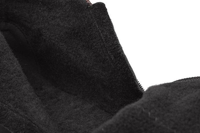 Botki AXEL Comfort 1725 Rubinowe H na 2-zamki