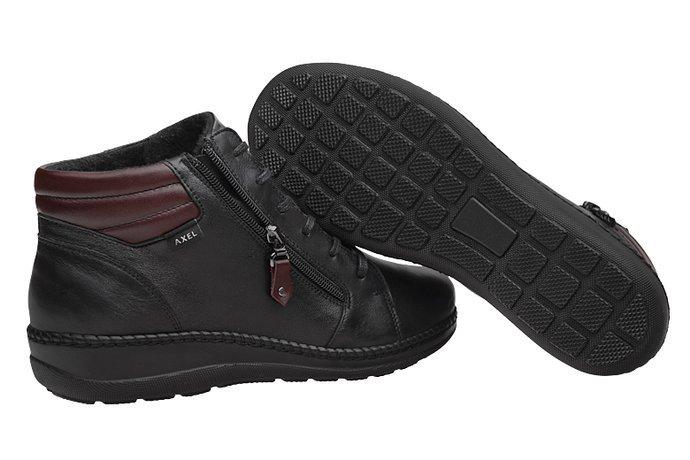 Botki AXEL Comfort 4356 Czarne H na Haluksy