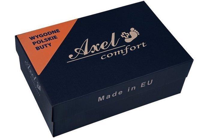 Botki AXEL Comfort 4356 Rubinowe H na Haluksy
