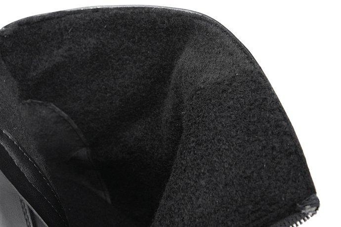 Botki VERONII 3844 Czarne ocieplane Kornecki