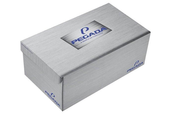 Brazylijskie Klapki Japonki PEGADA 30655 Czarne