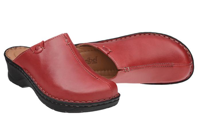 Buty Klapki JOSEF SEIBEL 56520 Catalonia Czerwone