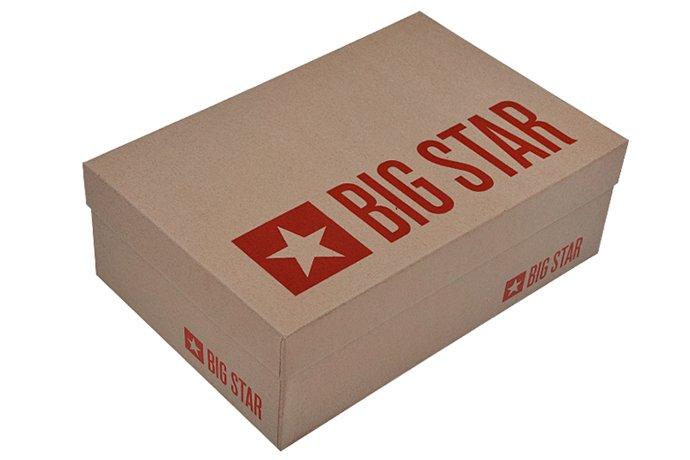 Czółenka Szpilki BIG STAR U274695 Lakierki