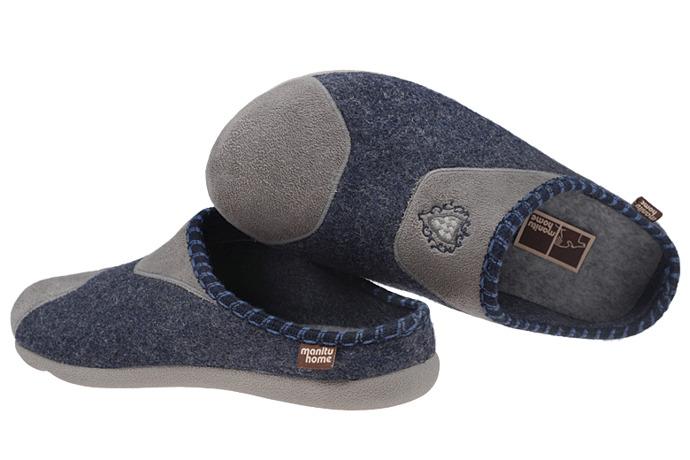 Kapcie Pantofle domowe Ciapy MANITU 220228-5