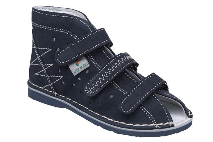 Kapcie profilaktyczne buty DANIELKI T105 T115 Granat