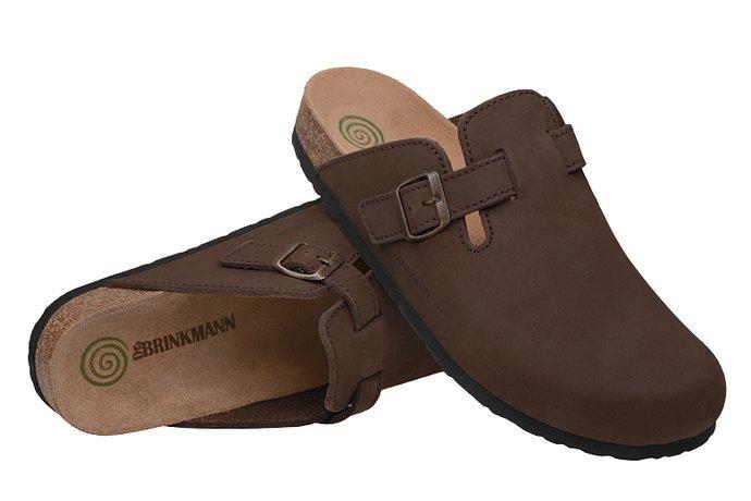 Klapki Dr BRINKMANN 600355-2 Brązowe