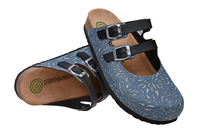 Klapki Dr Brinkmann 600463-5 Jeans