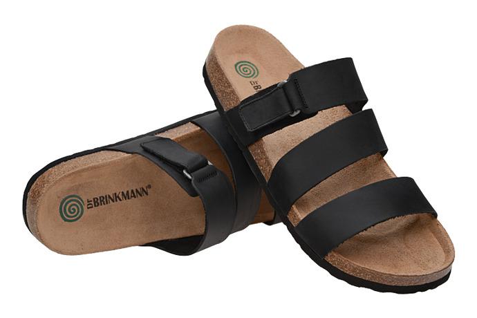 Klapki Dr Brinkmann 600466-1 Czarne