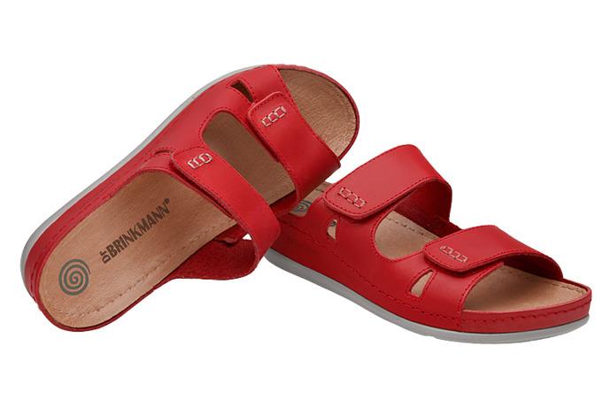 Klapki Dr Brinkmann 700735-4 Czerwone