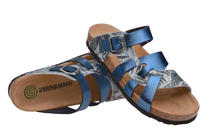 Klapki Dr Brinkmann 701141-5 Niebieskie