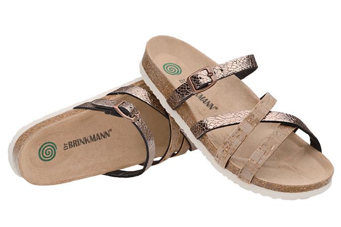 Klapki buty Dr Brinkmann 701038-2 Kork