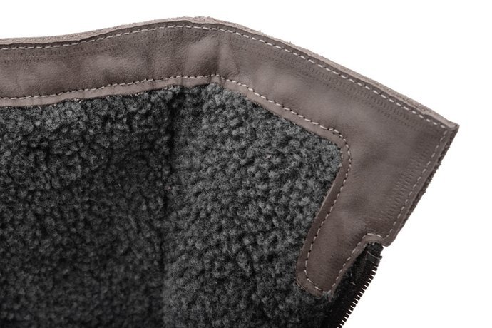 Kozaki Botki zimowe NIK 08-0196-002 Popielate ocieplane