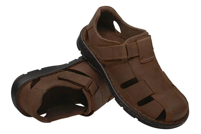 Półbuty Sandały COMFORTABEL 620190-2 Brązowe