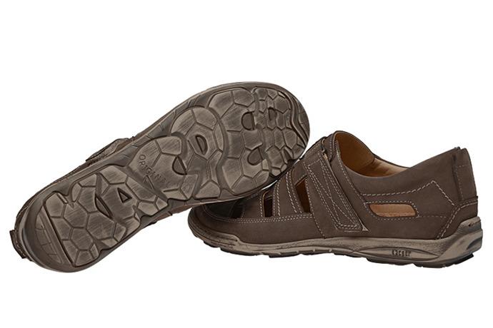 Półbuty Sandały KACPER 1-4208-518 Oliwkowe