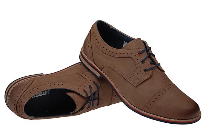 Półbuty sznurowane buty KRISBUT 4607-2-1