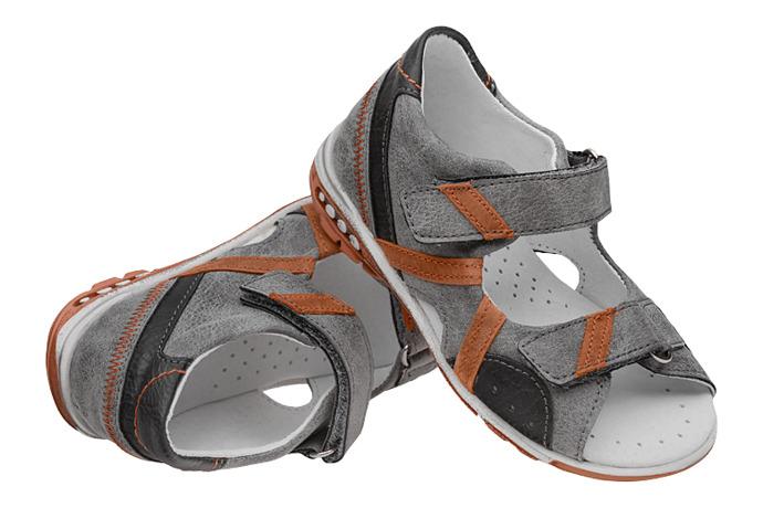 Sandałki dla chłopca KORNECKI 4959 Popielate