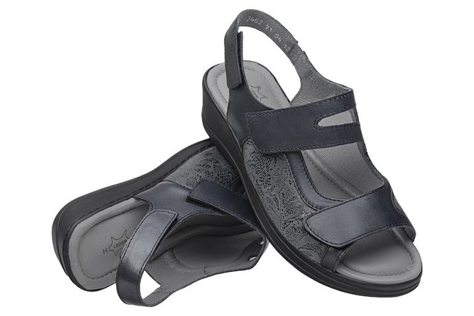 Sandały AXEL Comfort 2462 H Marine na Haluksy